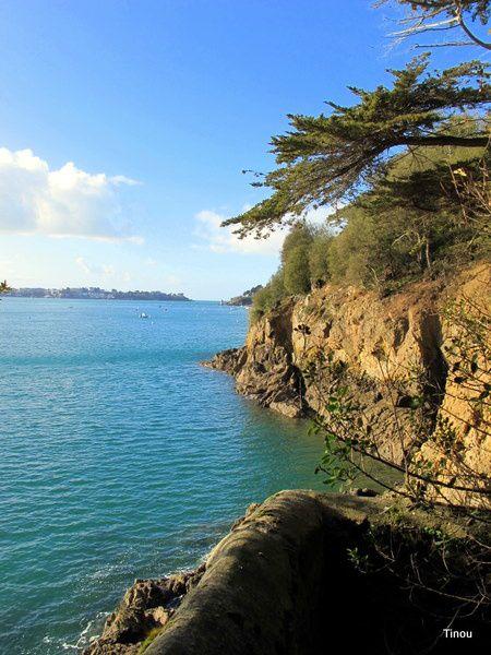 Estuaire de La Rance .Saint Malo