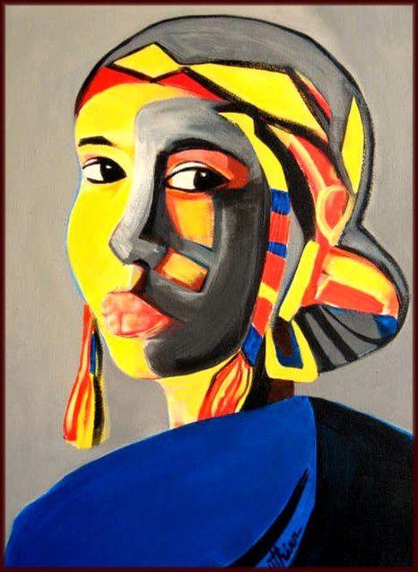 Femme masquée 1