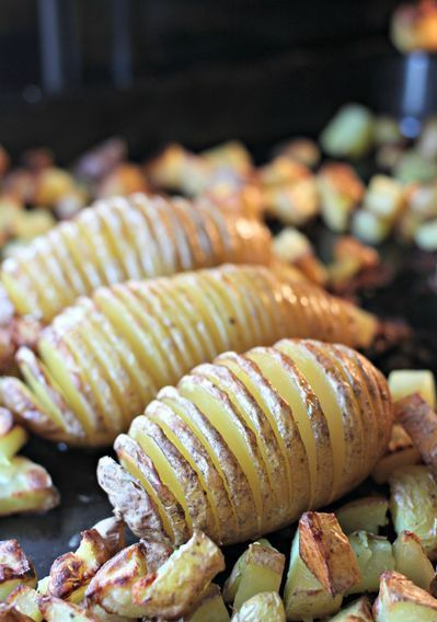 Pommes de terre r ties la su doise - Accompagnement barbecue pomme terre ...