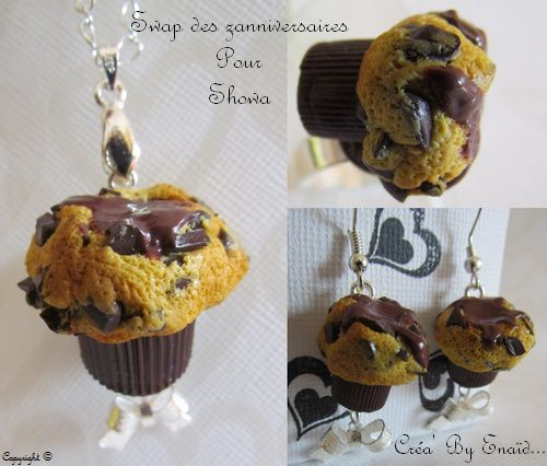 012 - Showa - Parure Muffin coeur coulant