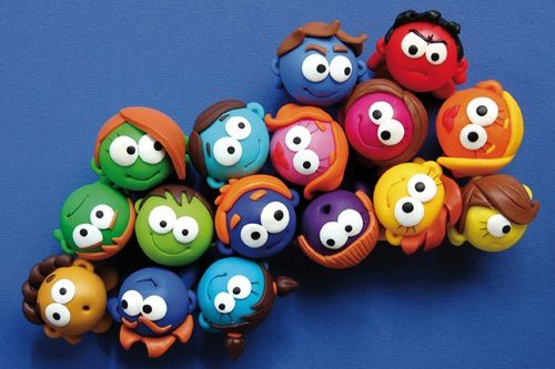personnages-fimo