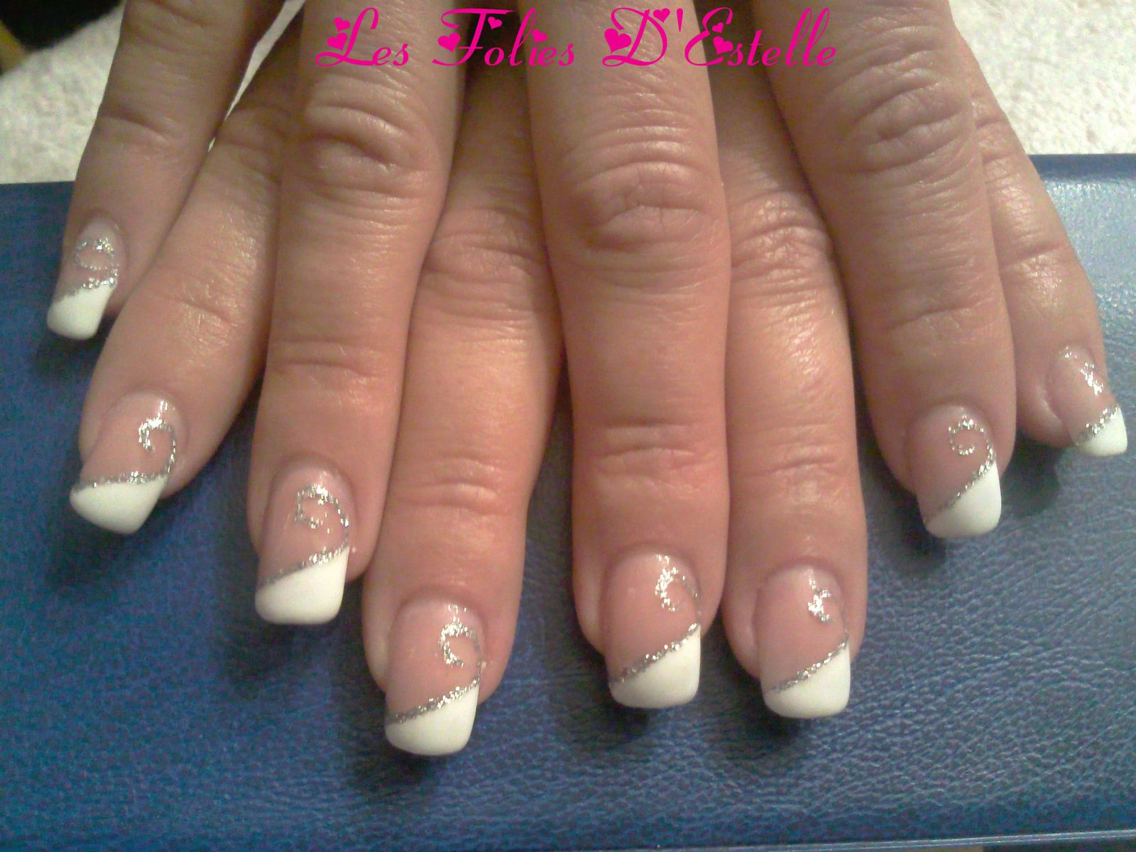 decoration ongle gel simple