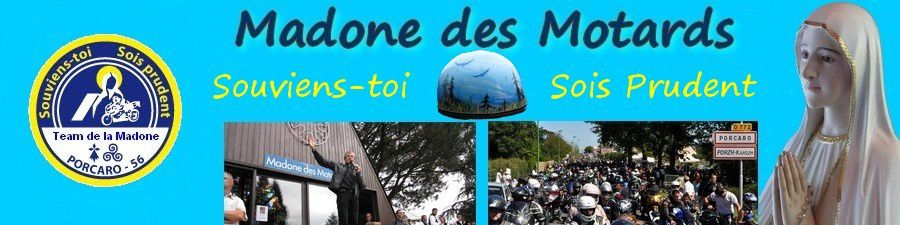 Baniere Blog madone des motards Fatima Nouvelle version