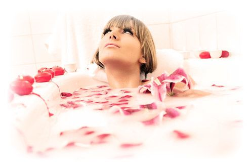 Bain d 39 amour special saint valentin le blog de mode amour et fantaisie for Photo dans un bain
