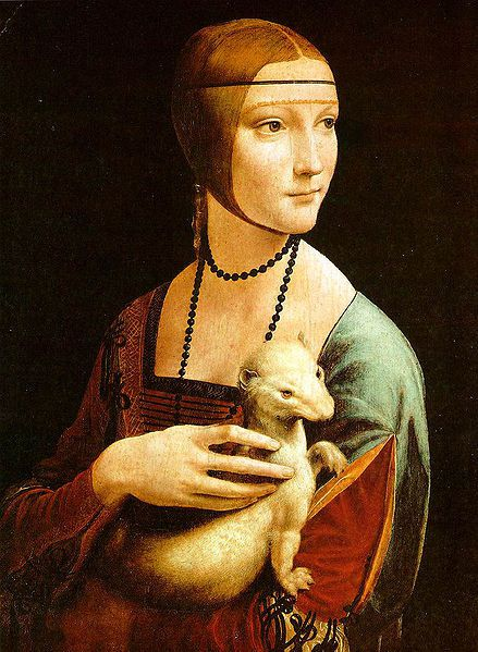 439px-The Lady with an Ermine