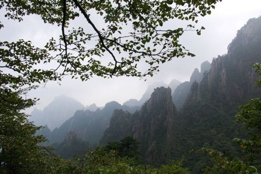 Chine sud montagnes-sacrees-huang-shan-521148