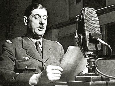 France Appel General DE GAULLE 18 juin 1940 radio BBC