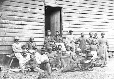 Esclave escaped Slaves mai août 1862