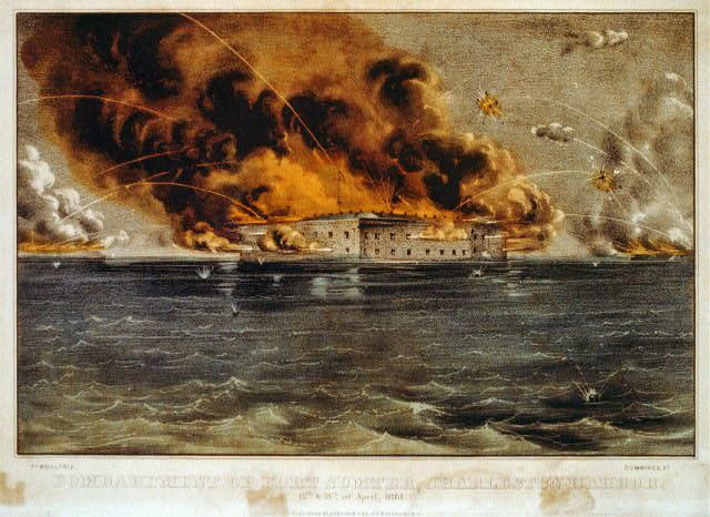 USA Bombardment of Fort Sumter