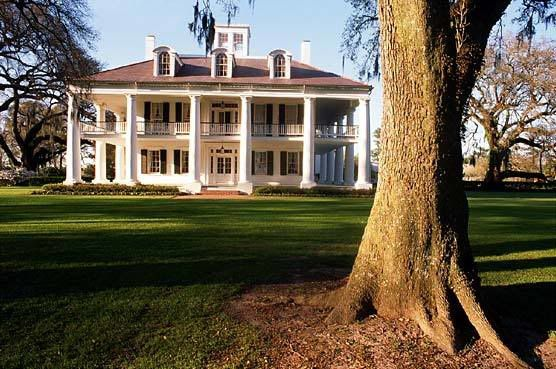 USA Louisiana Plantation House Bainbridge family