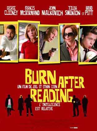 Burn after reading - Affiche