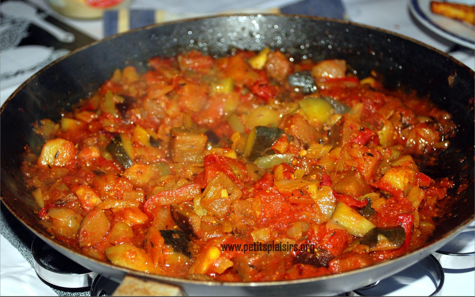Recette ratatouille facile - Recette cuisine provencale traditionnelle ...