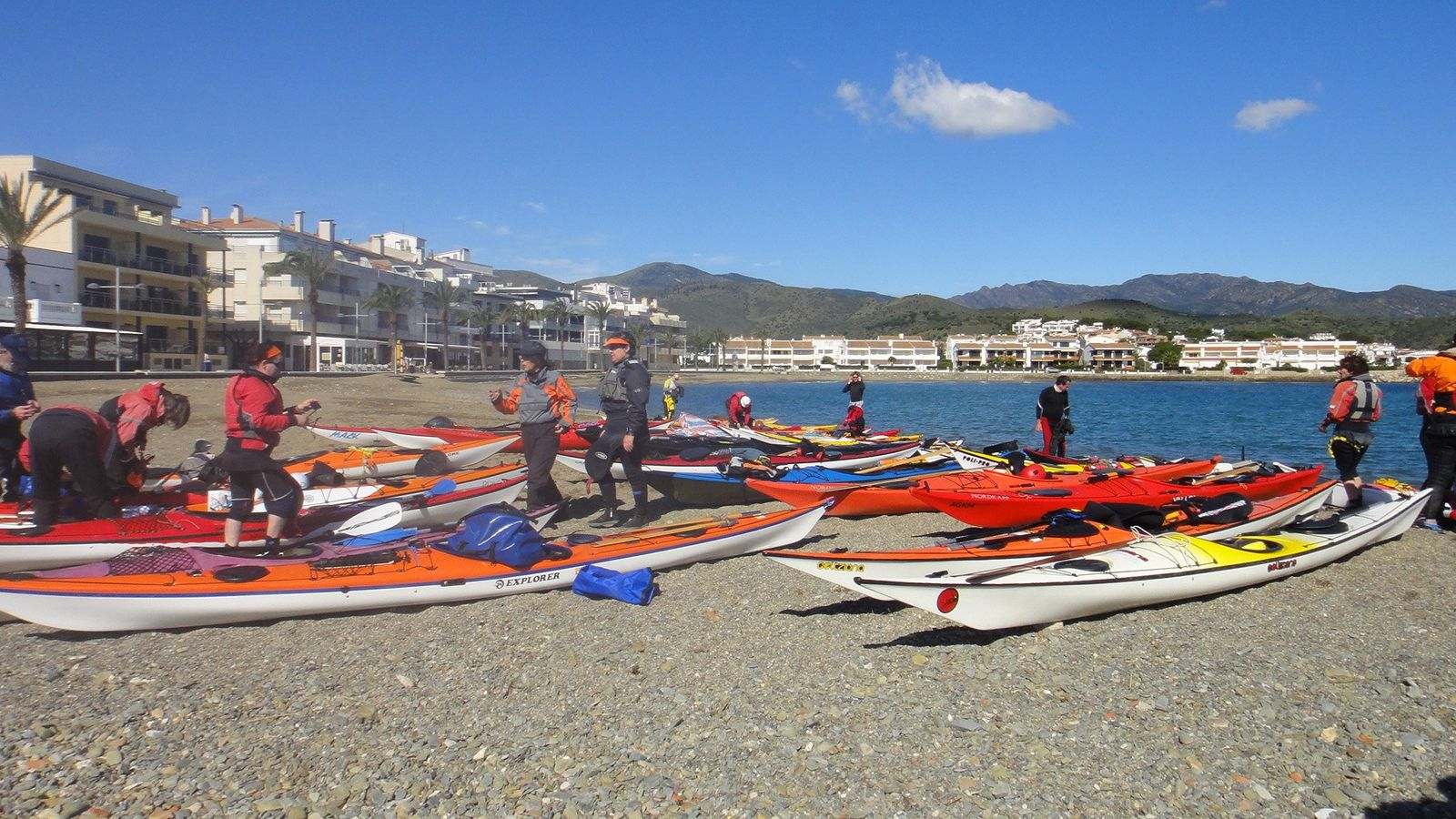 Symposium international de kayak de mer - Llança - Espagne - 23 au 25 mars 2013