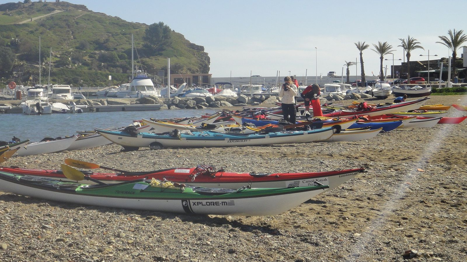 Symposium international de kayak de mer - Llança - Espagne - 23 au 25 mars 2013