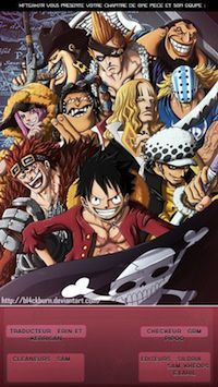 lecture en ligne Scan One Piece 722 VF FR