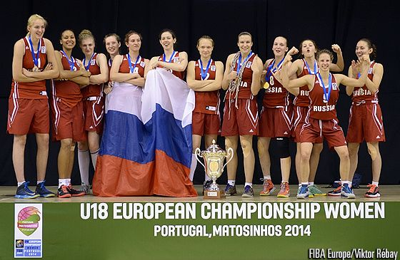 U18 f minin la russie championne d 39 europe news basket beafrika - Coupe d europe de basket feminin ...