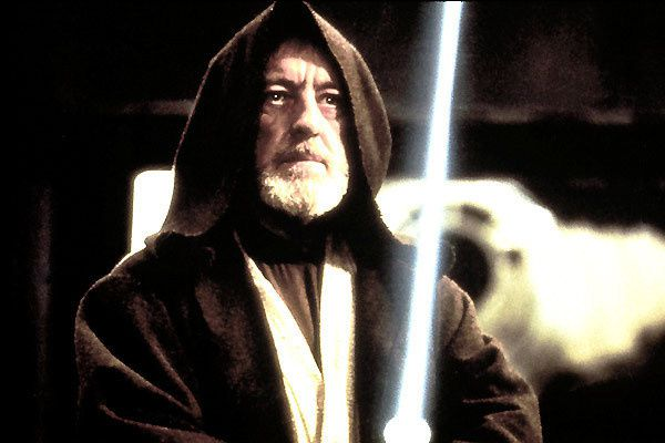 Alec Guinness. Lucasfilm Ltd.