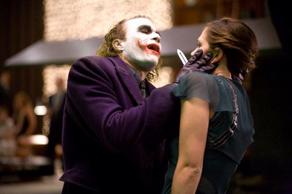 Heath Ledger et Maggie Gyllenhaal. Warner Bros.