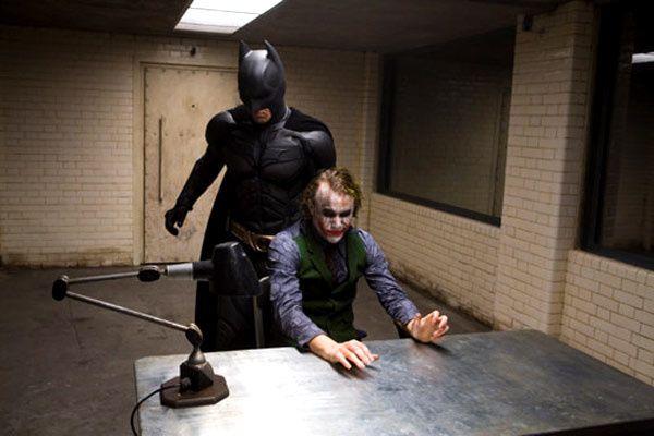 Christian Bale et Heath Ledger. Warner Bros.