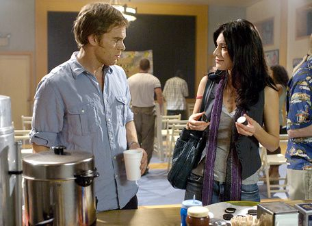 Michael C. Hall & Jaime Murray. Showtime Networks Inc.