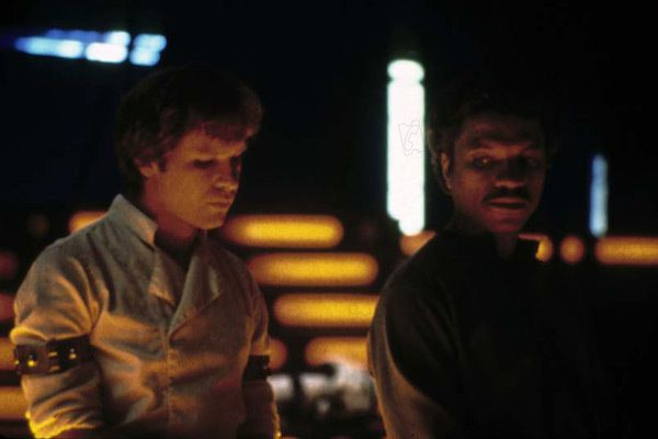 Harrison Ford et Billy Dee Williams. Collection AlloCiné / www.collectionchristophel.fr
