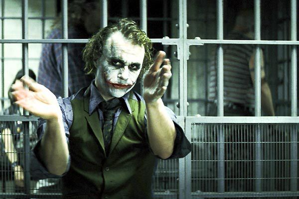 Heath Ledger. Warner Bros.