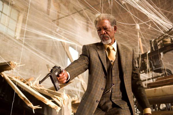 Morgan Freeman. Paramount Pictures France