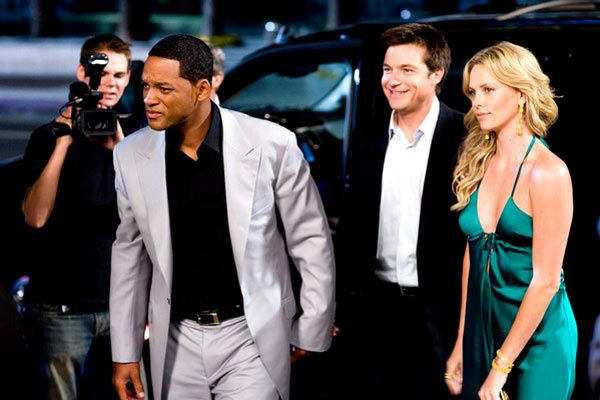 Will Smith, Jason Bateman et Charlize Theron. Sony Pictures Releasing France