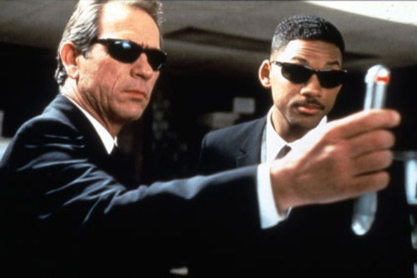 Will Smith et Tommy Lee Jones. Collection Christophe L.