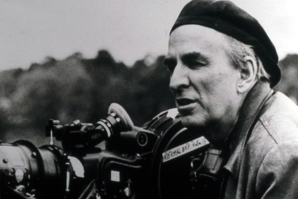 Ingmar Bergman au travail. Collection Christophe L.