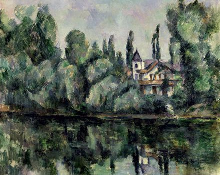 Bords de Marne, Cézanne, Ermitage St Pet