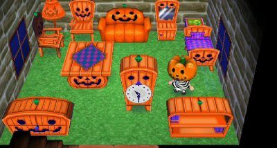 animal crossing new leaf halloween quilaztli un petit monde d 39 histoire. Black Bedroom Furniture Sets. Home Design Ideas