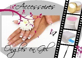 accessoires ongles en gel
