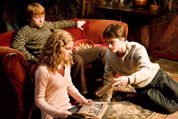 Emma Watson, Daniel Radcliffe et Rupert Grint. Warner Bros. France