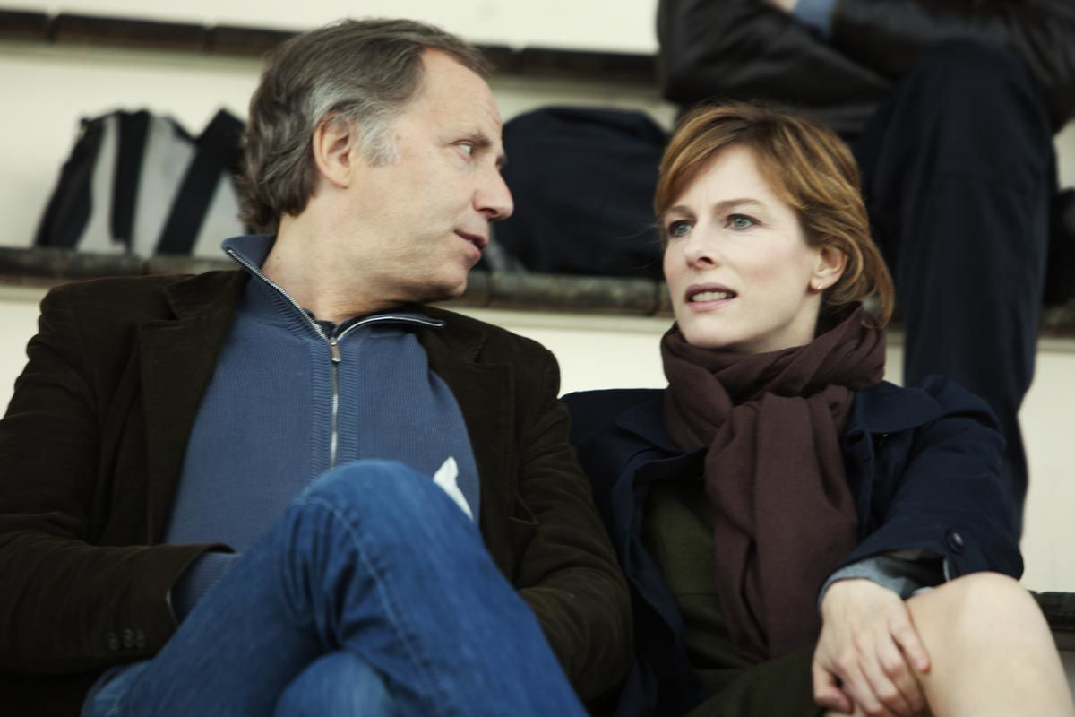 Fabrice Luchini et Karin Viard. Thibault Grabherr