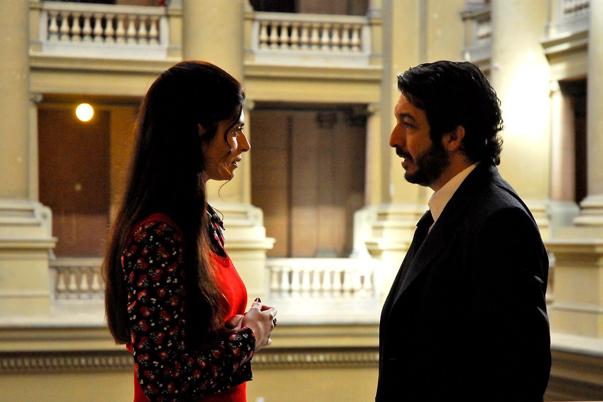 Soledad Villamil et Ricardo Darin. Pretty Pictures