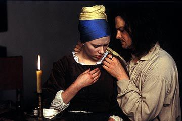 Scarlett Johansson and Colin Firth in Lions Gate's Girl With a Pearl Earring