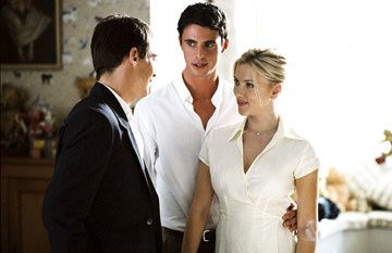Jonathan Rhys-Meyers , Matthew Goode and Scarlett Johansson in DreamWorks Pictures' Match Point