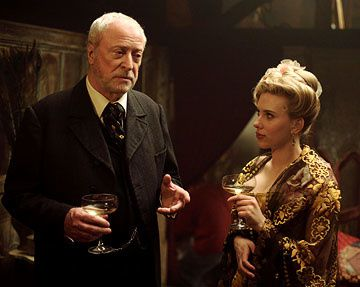 Michael Caine and Scarlett Johansson in Touchstone Pictures' The Prestige