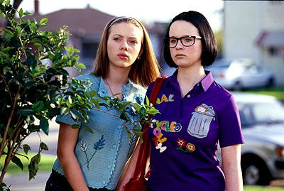 Scarlett Johansson and Thora Birch in United Artists' Ghost World