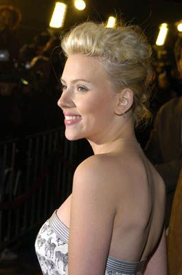 Scarlett Johansson at the LA premiere of The Perfect Score