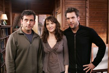 Steve Carell , Juliette Binoche and Dane Cook in Touchstone Pictures' Dan in Real Life