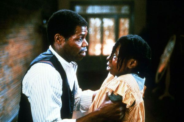 Danny Glover et Whoopi Goldberg. Collection Christophe L.