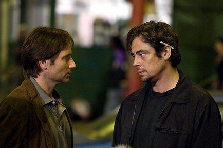 Nos souvenirs brûlés - David Duchovny et Benicio Del Toro
