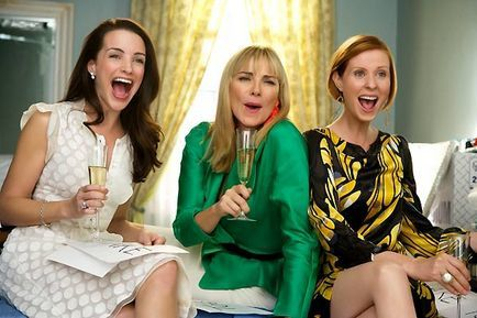 Sex and the City - le film - Kristin Davis, Kim Cattrall et Cynthia Nixon