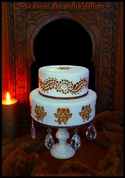 Wedding cake Oriental Gard