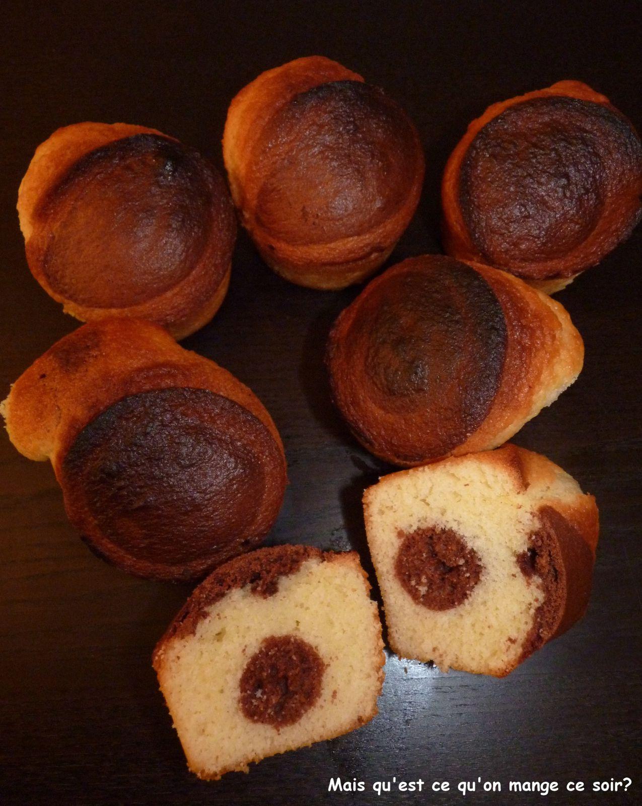 muffins c ur chocolat mais qu 39 est ce qu on mange ce soir. Black Bedroom Furniture Sets. Home Design Ideas