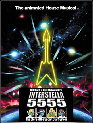 affiche interstella 5555 0