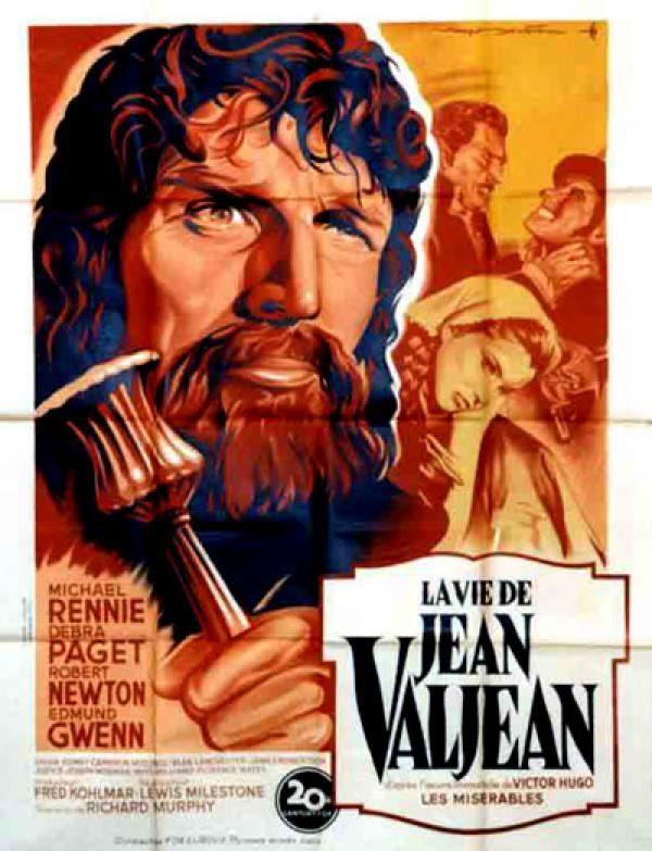 La vie de Jean Valjean (Les Misérables) affiche VF