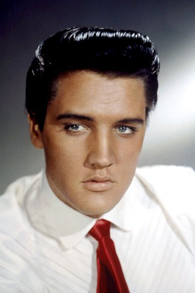 Portrait de Elvis Presley. Collection Christophe L.